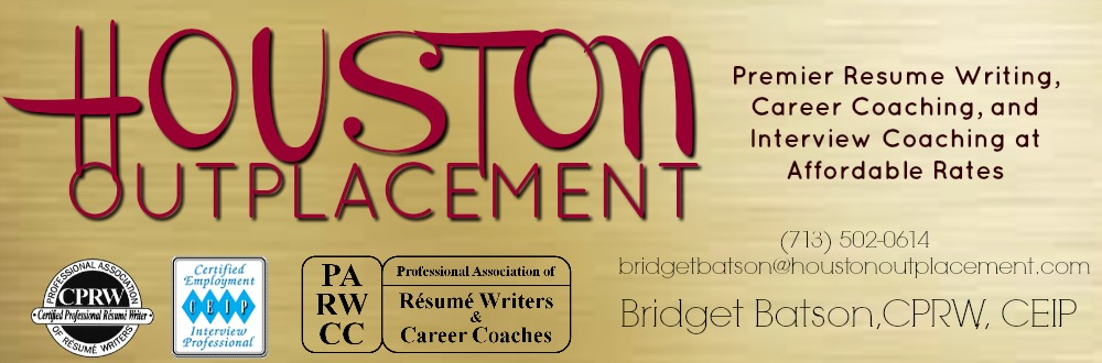 houston outplacement bridget batson certified professional resume writer